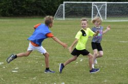 Children having fun during the kids activities run by Brantham Leisure Centre